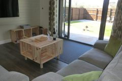 Gulval Farm Cottages - The Lily Pad - The Living Area